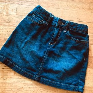 Old navy denim skirt - size 10
